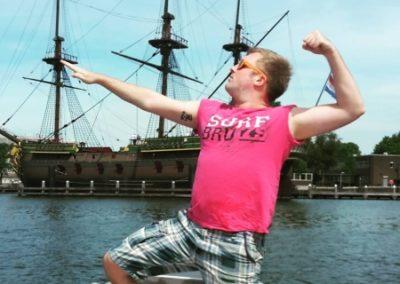 Freie Bootsfahrt gewinnen Fotowettbewerb
