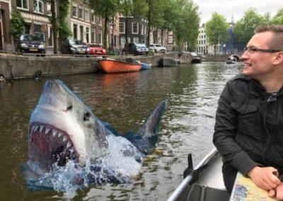 Jaws zu Besuch in Amsterdam