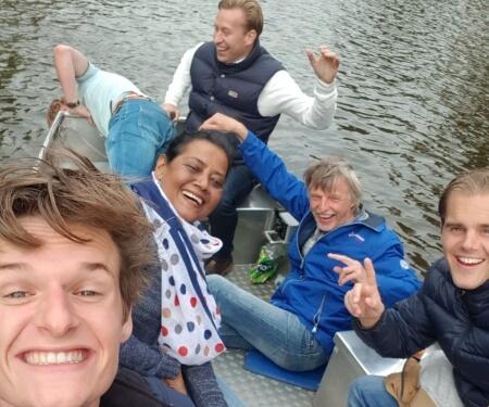 Firmenausflug Amsterdam Grachtenfahrt