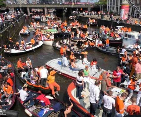 Boot mieten Koenigstag Amsterdam