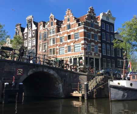 Fahrtrouten Boot Amsterdam