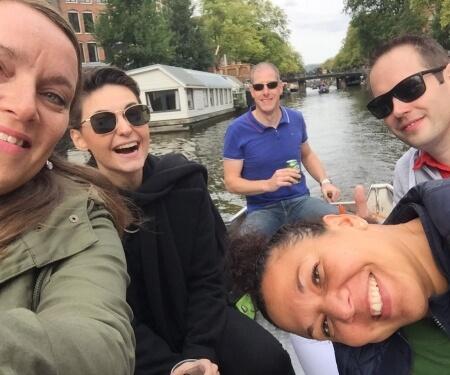 Firmenevent Grachtenfahrt Amsterdam