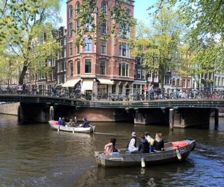 Grachten Amsterdam Bootstour