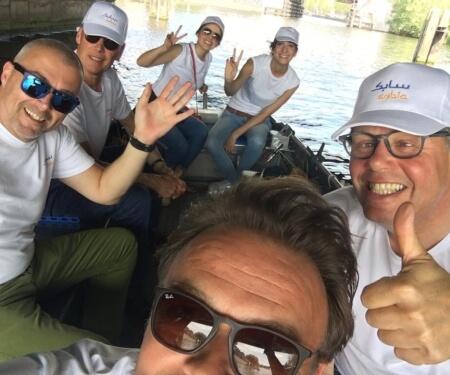 Motorboot mieten Amsterdam Grachtenfahrt