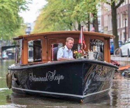 Private Grachtenfahrt Amsterdam Elektroboot mieten