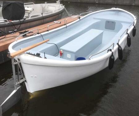 Private Grossgruppe Grachtenfahrt Amsterdam Elektroboot