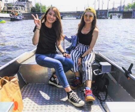 Amsterdam bootfahren Grachten
