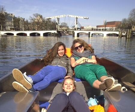 Boot fahren Amsterdam Magere Brücke