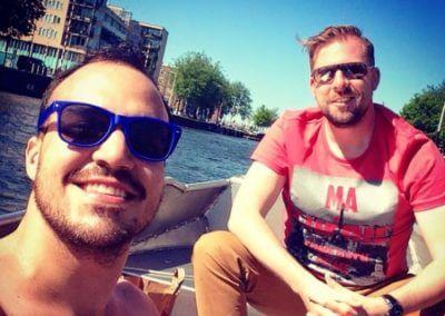 Bootsfahrt Amsterdam Fotowettbewerb