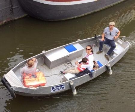 Motorboot mieten Amsterdam ohne Führerschein