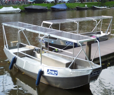 Solarboot selber fahren Amsterdam