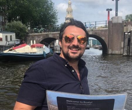 Amsterdam selber boot fahren
