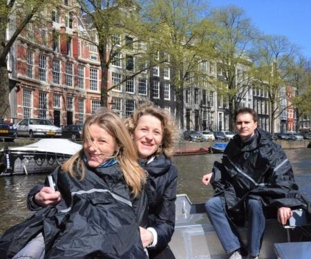Bootsfahrt Prinsengracht Amsterdam