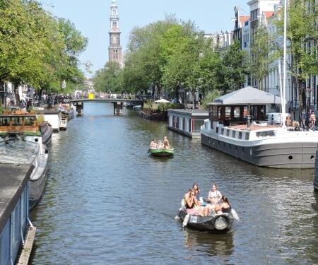 Grachtenroute Amsterdam Zentrum Amsterdam Westerkirche