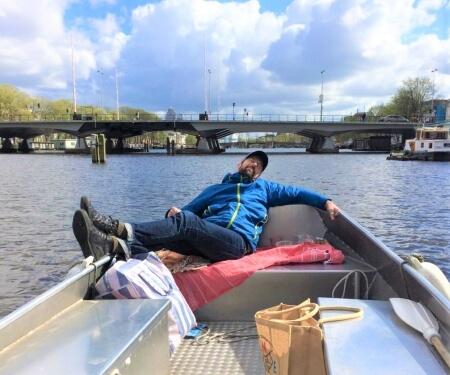 Quarantaine Bootstour Amsterdam