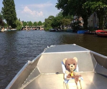 Selber Boot fahren Amsterdam Corona Fahrtroute